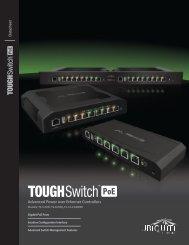 TOUGHSwitch™ PoE | Datasheet - Ubiquiti Networks