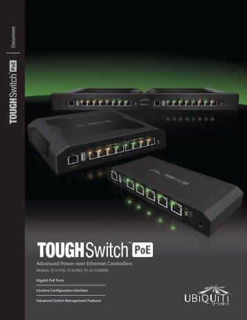 TOUGHSwitch™ PoE   Datasheet - Ubiquiti Networks