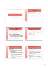 Gestión de E/S Contenidos Categorías de dispositivos de entrada ...