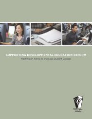 Supporting Developmental Education Reform - The Working Poor ...