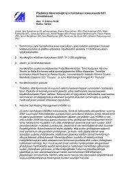 Pöytäkirja Merenkävijät ry:n hallituksen kokouksesta 6/87 ...