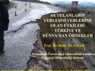 Prof.Dr. Halil KUMSAR - Devlet Su İşleri Genel Müdürlüğü