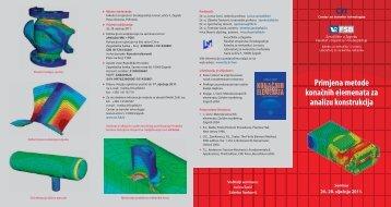 Primjena metode konačnih elemenata za analizu konstrukcija - FSB ...