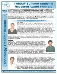 Tech Trans Bulletin - August 2007