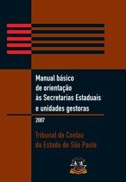 Orientação às Secretarias Estaduais e Unidades Gestoras