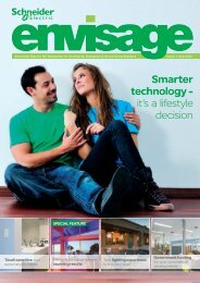 view the brand new issue of envisage - Schneider Electric
