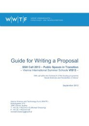 Guide for Writing a Proposal - Wwtf.at