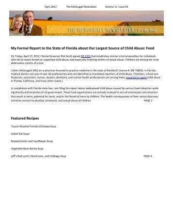 Printer Friendly PDF - Dr. McDougall