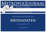 Mediadaten Download - MetropolJournal Rhein-Neckar