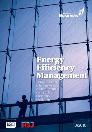 Energy Efficiency Management - Health Service Journal