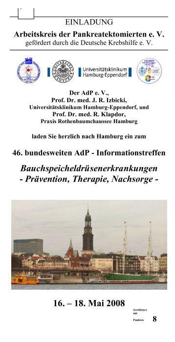 Einladung und Programm (PDF) - Praxis Prof. Dr. med. Rainer Klapdor