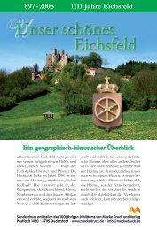 897 - 2008 1111 Jahre Eichsfeld - Mecke Druck und Verlag