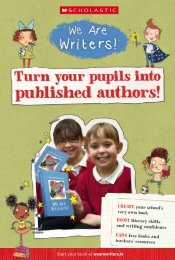 Your Book At Wearewriters - Scholastic