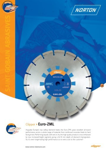 Clipper Euro-ZML - Norton Construction Products