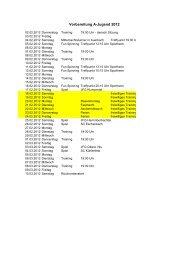 A-Jugend Vorbereitungsplan Rückrunde Saison 2011/2012 - JFG ...