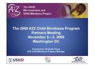 A2Z Child Blindness Program 2004-Present - A2Z: The USAID ...