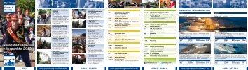 Veranstaltungs- höhepunkte 2012 - Papenburg Tourismus