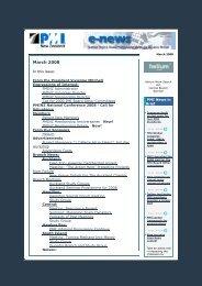 PMINZ e-news March 2008