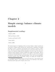 Chapter 2 Simple energy balance climate models