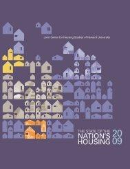 NatioN'S HoUSiNg - Joint Center for Housing Studies - Harvard ...