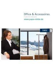 Prospekt SMV Objektmöbel Office & Accessoires online - Pape+Rohde