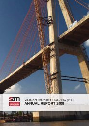 Vietnam Property Holding 2009 Annual Report.pdf - Saigon Asset ...