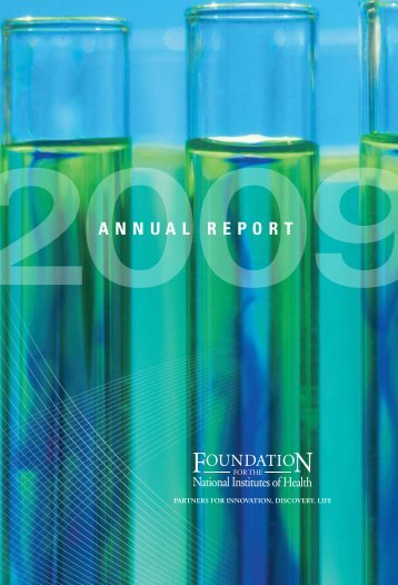 2009 Annual Report - Foundation for the National Institutes of Health