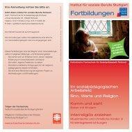 Fortbildungen - Institut für soziale Berufe Stuttgart gGmbH