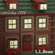 Holiday Shopping is a One-stop Celebration at L.L.Bean