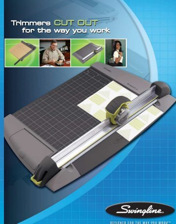 Trimmers CUT OUT for the way you work Trimmers CUT OUT ... - Net
