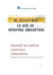 2 Instalación de Joomla! en un servidor remoto - Instituto Nacional ...