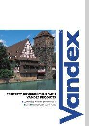 Vandex Refurbishment Brochure - Safeguard Europe Ltd.