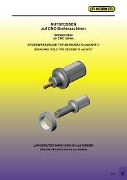 NUTSTOSSEN auf CNC-Drehmaschinen