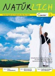 Kundenmagazin der Stadtwerke Bad Tölz GmbH Umweltschutz wird ...