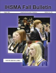Fall Bulletin No. 239 - August 2011 - Iowa High School Music ...