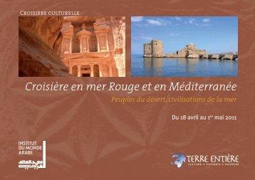 Croisière en mer Rouge et en Méditerranée - Terre Entiere