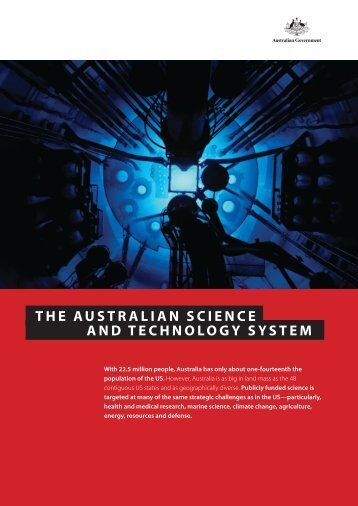 the auStralian Science and technology SyStem - Science in Public