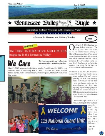 April 2012 PDF - Tennessee Valley Bugle