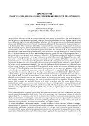 L'intervento - Caritas Torino