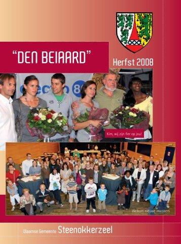 """""""DEN BEIAARD"""" Herfst 2008 - Steenokkerzeel"""