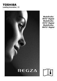 Bedienungsanleitung - Toshiba-OM.net