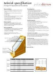 Teknisk specifikation (pdf) - Hemfint.se