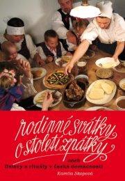 Rodinné svátky o století zpátky aneb Oslavy a rituály v ... - eReading