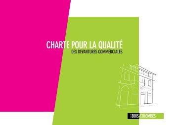 CHARTE POUR LA QUALITÉ - Bois-Colombes