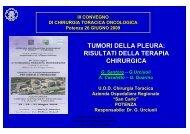 Mesotelioma pleurico. Trattamento chirurgico.pdf - Ospedale San ...