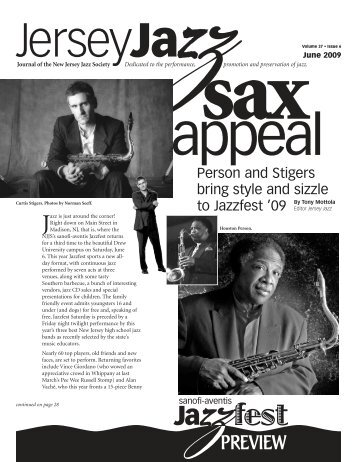 PREVIEW - New Jersey Jazz Society
