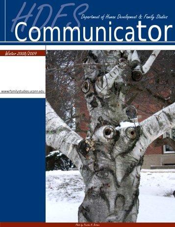 HDFS Communicator, Winter 2008/2009 - Human Development and ...