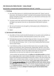 II Die historische Hütte Davids.pdf - Haus des Gebets – St. Georgen