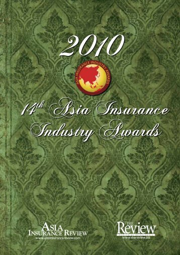 14th Asia Insurance Industry Awards 14th Asia Insurance Industry ...