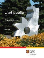 Concepteurs et oeuvre - Université Laval